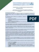 Desarrollo y Evaluacion de Competencias Planificacion Organizacion