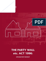 Party Wall Act 1996