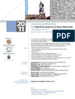 Hybrid Excitations in Nano Material
