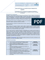 Desarrollo y Evaluacion de Competencias Trabajo en Equipo