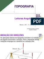 TOPOGRAFIA EST Leituras Angulares 2011_2