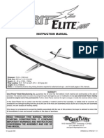 Spirit Elite Manual