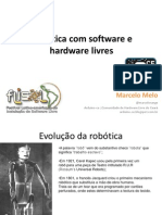 Robtica Com Software e Hardware Livres