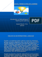 New Methodological Trends in English Learning