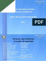 Presentacion de Seguridad 2014 Con Vias Actualizadas