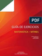 GUÍA DE ACTIVIDADES MATEMÁTICA - MTIN01
