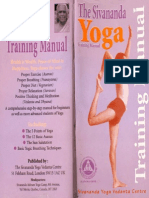 The Sivananda Yoga_training Manual