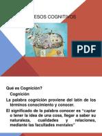 Clase Procesos Cognitivos Ppt