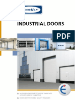 Industrial Sectional Doors DoorHan 2009