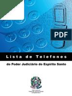 Telefones e endereços das comarcas ES