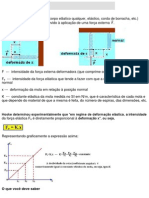 Lei de Hooke (força elástica) exercicios  e resposta