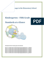 fles k 5 at a glance  standards
