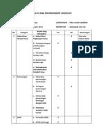 Checklist Tib Kelompok 6