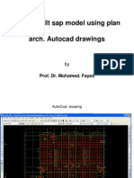 AutoCad Drawing to Sap