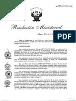 RM160 2014 MINSA Coord Inmunizaciones