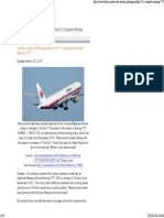 What Happened to Boeing Flight 370?
