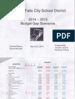 Niagara Falls School District 2014-15 budget scenarios