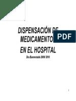 Dispensacion de Madicamentos en El Hospital