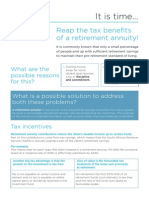 It-Is Time-Reap Benefits of RA