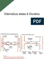 Edematous States & Diuretics