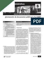 Eliminacion de Documentos Publicos