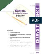 Ensayo3 Simce Historia 6basico 2013