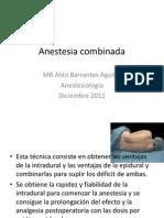 Anestesia Combinada
