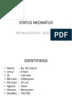 Status Neo Inez