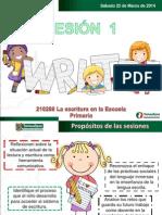 La escritura en la escuela primaria..SESIÓN 1