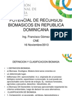 Potencial de Recursos Biomasicos