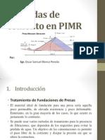 Lechadas de Cemento en PIMR