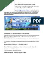 Il Rappresentante Virtuale-Truffa o Opportunità Lavorativa?