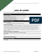 plantilla plan unidad