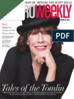 Metro Weekly - 03-20-14 - Lily Tomlin