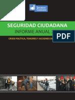 Informe Seguridad Ciudadana 2013. IDL