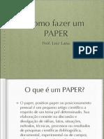 Paper - o que é e como fazer