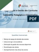 Apresentacao_Curriculo_Autonomia_Pedagógica e  Organizativa_DRE[1]