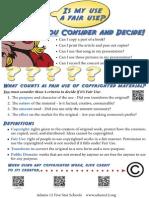 fair use poster