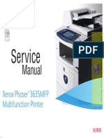 XEROX Phaser 3635MFP Service Manual Pages