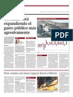 Gobierno expande gasto público agresivamente_Gestión 28-03-2014