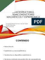 Nanoestructuras, semiconductores magnéticos y espintronica version