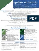 Blueprints Instructions