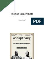 Fanzine Screenshots