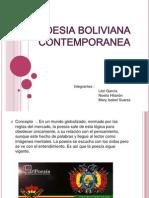 Poesia Boliviana Contemporanea