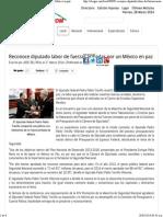 28-03-14 Reconoce diputado labor de fuerzas armadas por un México en paz