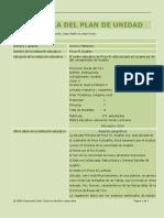 plan de unidad proyecto dionicio p  2014