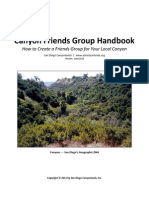 How to Create a Friends Group For Your Local Canyon
