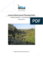 Canyon Enhancement Planning Guide -  Part 1