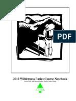 2012 Wilderness Basics Course Notebook