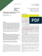BERMEJO, J. Leyendo Los Espacios. Una Aproximacion Critica a La Sintaxis Espacial Como Herramienta de Analisis Arqueologico. 2009